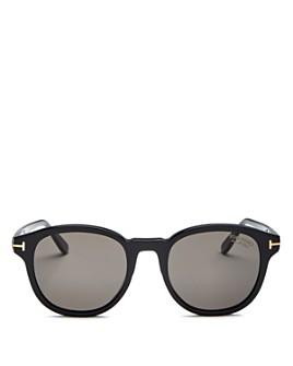 Tom Ford - Men's Jameson Polarized Round Sunglasses, 52mm