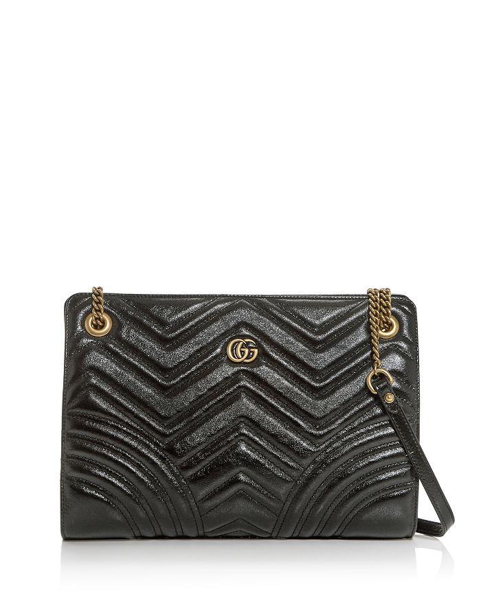 Gucci - Medium GG Marmont Matelassé Leather Shoulder Bag