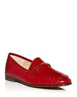 Sam Edelman - Women's Loraine Croc-Embossed Apron-Toe Loafers - 100% Exclusive