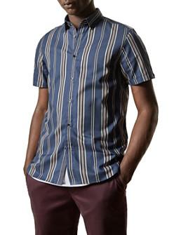 Ted Baker - Doigt Striped Slim Fit Shirt