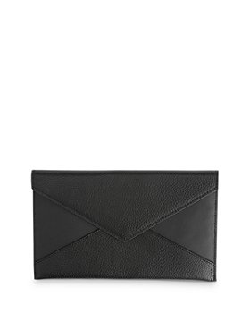ROYCE New York - Leather Envelope Clutch
