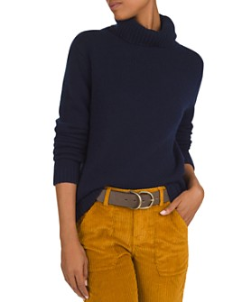 ba&sh - Lace Cashmere Turtleneck Sweater