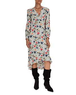 ba&sh - Paloma Floral Midi Dress