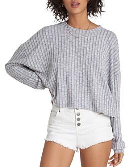 Billabong - Easy Way Rib-Knit Cropped Top