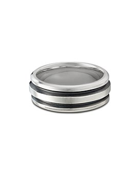 David Yurman - Sterling Silver Deco Ring