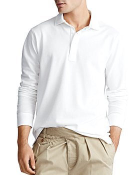 Polo Ralph Lauren - Custom Slim Fit Long Sleeve Mesh Polo Shirt