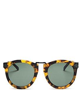 Karen Walker - Women's Harvest Round Sunglasses, 51mm