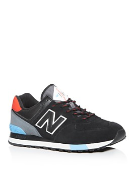 New Balance - Men's 574 Suede Low-Top Sneakers