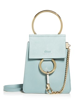 Chloé - Faye Mini Leather Bracelet Crossbody