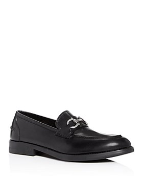 Salvatore Ferragamo - Men's Arlin Gancini Bit Leather Apron-Toe Loafers