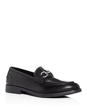 Salvatore Ferragamo - Men's Arlin Gancini Bit Leather Apron-Toe Loafers