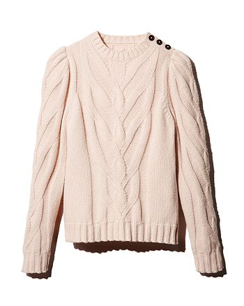Rebecca Taylor - Chevron-Cable Sweater - 100% Exclusive