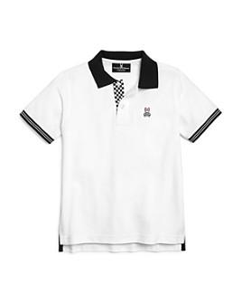 Psycho Bunny - Boys' Camley Contrast-Collar Polo Shirt - Little Kid, Big Kid