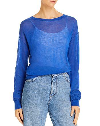 Helmut Lang - Semi-Sheer Cashmere Sweater