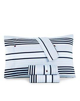 Tommy Hilfiger - Ocean Stripe Sheet Set, Twin XL