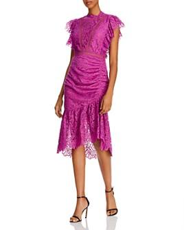 Saylor - Lace Midi Dress