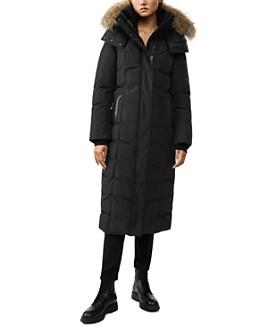 Mackage - Jada Fur-Trim Long Down Coat