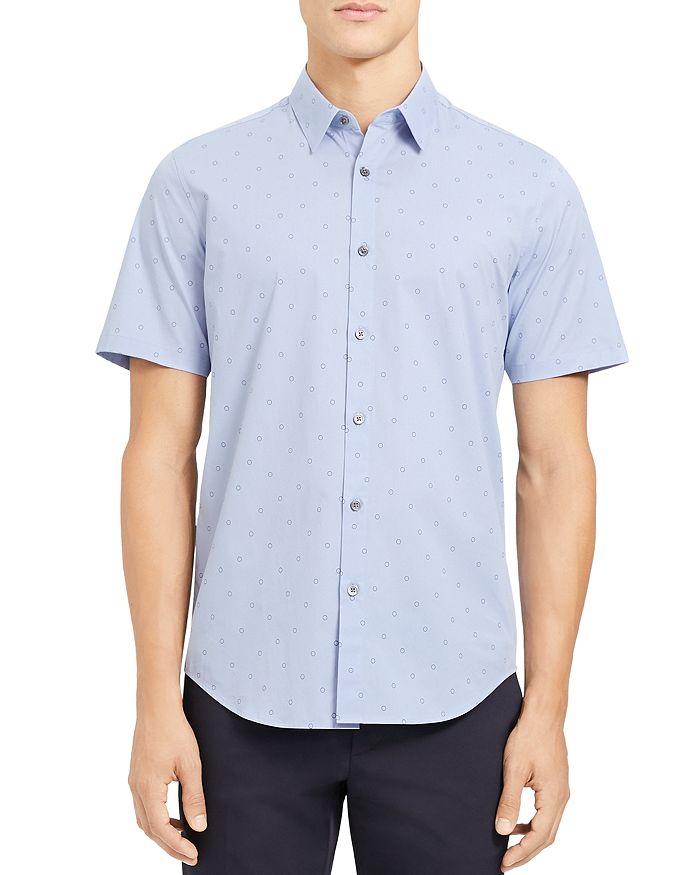 Theory - Irving Regular Fit Short-Sleeve Shirt
