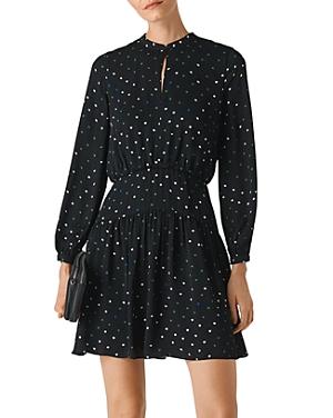 Whistles Millie Star-Print Mini Dress