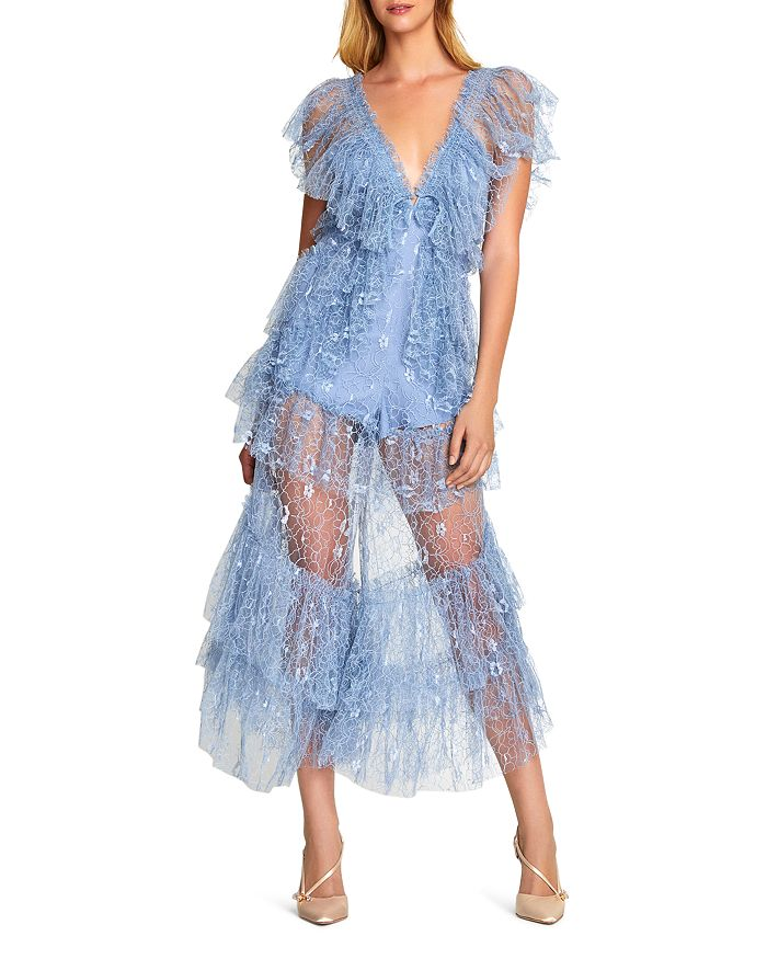 Alice McCall - Magician's Daughter Ruffled Lace Jumpsuit