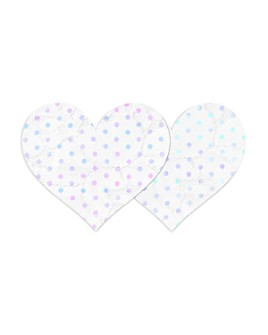 Bristols Six - Nippies Dotted Heart Pasties