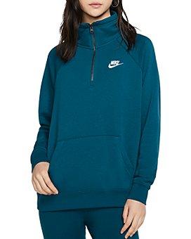 Nike - Essential Quarter-Zip Fleece Sweatshirt