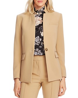 VINCE CAMUTO - Notched Stand-Collar Blazer