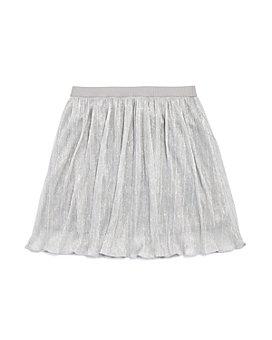 AQUA - Girls' Pleated Sparkle Skirt, Big Kid - 100% Exclusive
