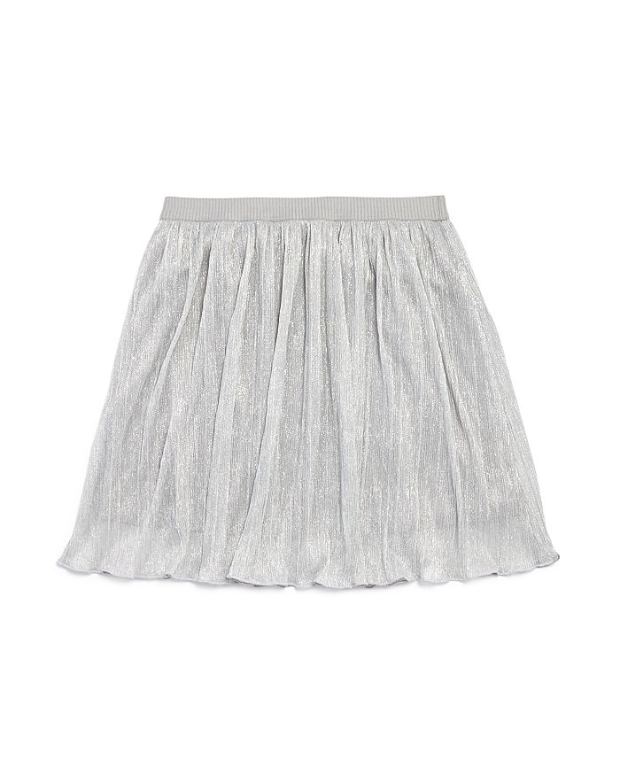 AQUA - Girls' Pleated Sparkle Skirt, Big Kid - 100% Exclusive