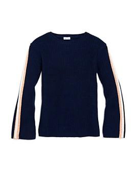 Splendid - Girls' Sparkle-Stripe Sweater - Big Kid