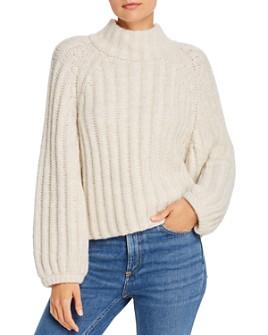 Eleven Six - Maggie Alpaca-Blend Mock Neck Sweater