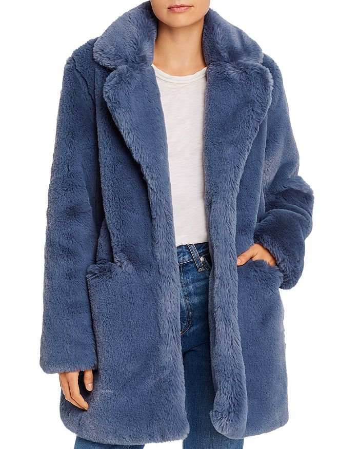 Apparis Coats SOPHIE FAUX FUR COAT