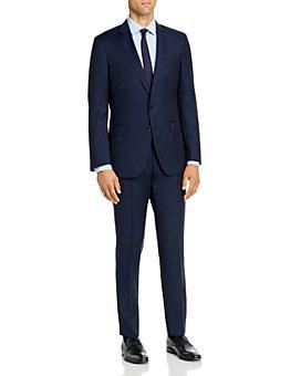BOSS - Huge/Genius Hairline Stripe Slim Fit Suit