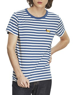 Maison Labiche - Wiener Dog Striped Tee