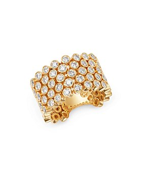 Bloomingdale's - Diamond Bezel Statement Flex Ring in 14K Yellow Gold, 1.6 ct. t.w. - 100% Exclusive