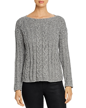 Eileen Fisher Knits CABLE-KNIT SWEATER