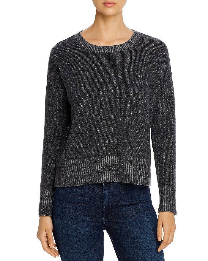 Eileen Fisher - Ribbed-Trim Sweater