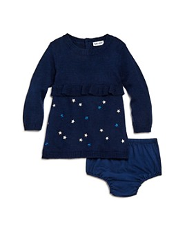 Splendid -  Girls' Embroidered Star Dress & Bloomers Set - Baby