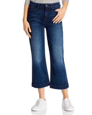 Cropped Wide Leg Jeans Dark Blue 10 New NEXT
