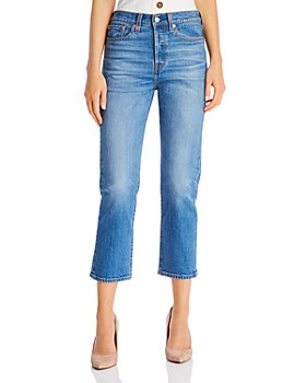 Levi's - Wedgie Straight Jeans in Jive Sound