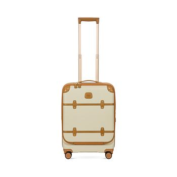 """Bric's - Bellagio 21"""" Carry On Spinner Trunk with Pocket"""