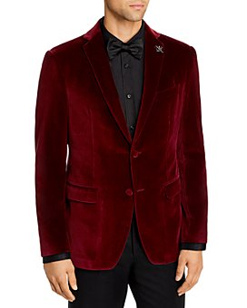 John Varvatos Star USA - Bleeker Velvet Slim Fit Dinner Jacket
