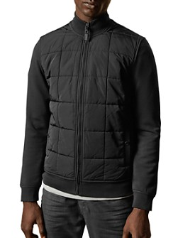 Ted Baker - Pasport Quilted-Front Jacket