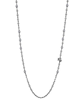 Ralph Lauren - Simulated Pearl Strandage Necklace, 42""
