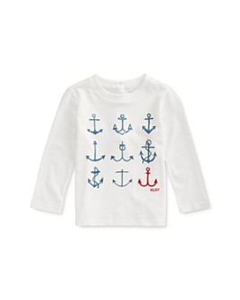 Ralph Lauren - Girls' Nautical Graphic Tee - Baby