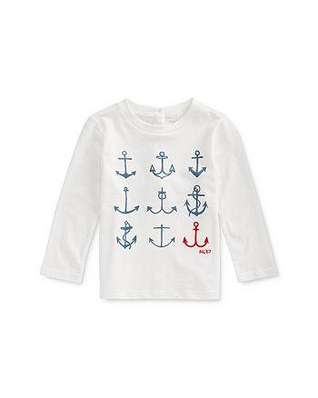 Ralph Lauren - Girls' Nautical Graphic Tee - Baby