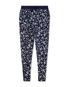Ralph Lauren - Girls' Floral Print Terry Pants - Big Kid