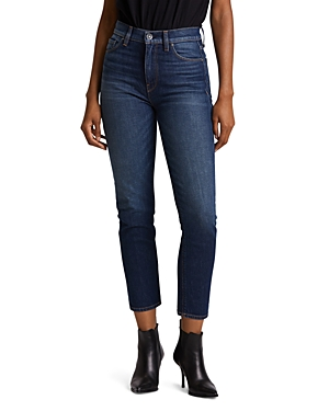 Hudson Jeans HIGH RISE STRAIGHT CROP JEANS IN IMPROMPTU