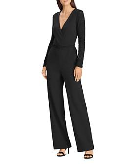Ralph Lauren - Lace-Paneled Jersey Jumpsuit