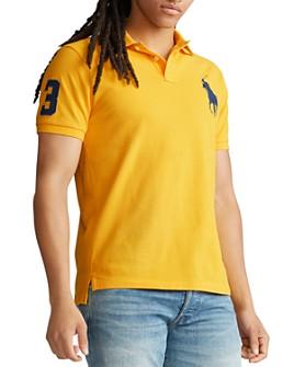 Polo Ralph Lauren - Custom Slim Fit Mesh Polo Shirt